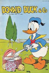 Cover Thumbnail for Donald Duck & Co (Hjemmet / Egmont, 1948 series) #41/1964