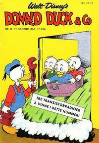 Cover Thumbnail for Donald Duck & Co (Hjemmet / Egmont, 1948 series) #43/1964