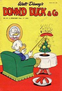 Cover Thumbnail for Donald Duck & Co (Hjemmet / Egmont, 1948 series) #49/1964