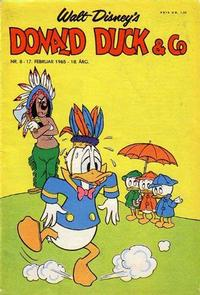 Cover Thumbnail for Donald Duck & Co (Hjemmet / Egmont, 1948 series) #8/1965