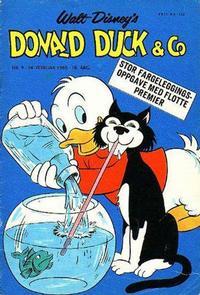 Cover Thumbnail for Donald Duck & Co (Hjemmet / Egmont, 1948 series) #9/1965