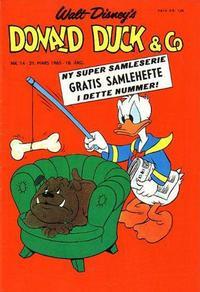 Cover Thumbnail for Donald Duck & Co (Hjemmet / Egmont, 1948 series) #14/1965