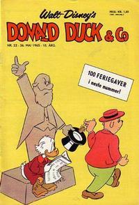 Cover Thumbnail for Donald Duck & Co (Hjemmet / Egmont, 1948 series) #22/1965