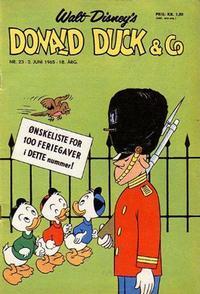Cover Thumbnail for Donald Duck & Co (Hjemmet / Egmont, 1948 series) #23/1965