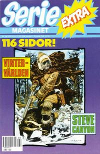 Cover Thumbnail for Seriemagasinet extra (Semic, 1990 series) #3/1990