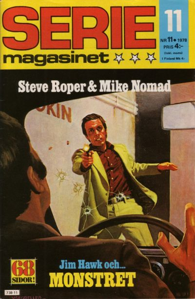 Cover for Seriemagasinet (Semic, 1970 series) #11/1978