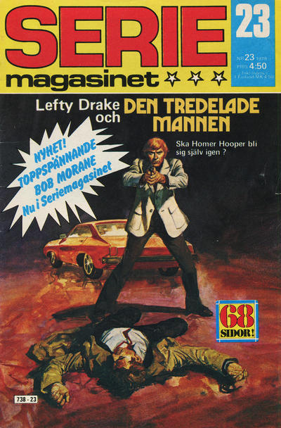 Cover for Seriemagasinet (Semic, 1970 series) #23/1979