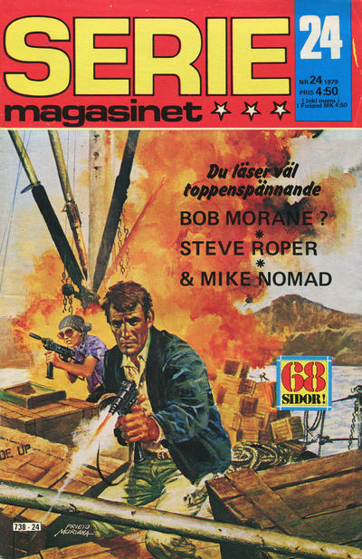 Cover for Seriemagasinet (Semic, 1970 series) #24/1979