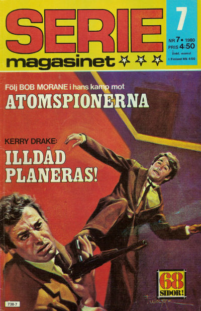 Cover for Seriemagasinet (Semic, 1970 series) #7/1980