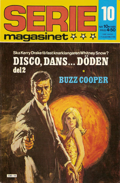 Cover for Seriemagasinet (Semic, 1970 series) #10/1980