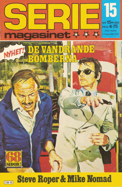 Cover for Seriemagasinet (Semic, 1970 series) #15/1980