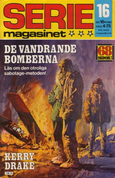 Cover for Seriemagasinet (Semic, 1970 series) #16/1980