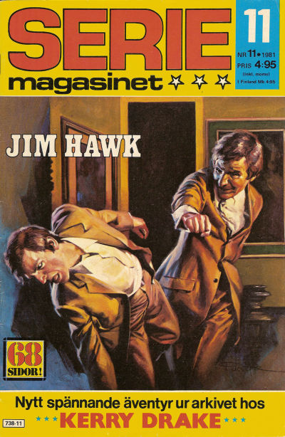 Cover for Seriemagasinet (Semic, 1970 series) #11/1981