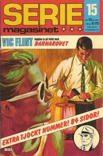 Cover for Seriemagasinet (Semic, 1970 series) #15/1981