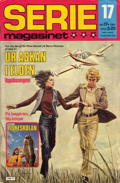 Cover for Seriemagasinet (Semic, 1970 series) #17/1981
