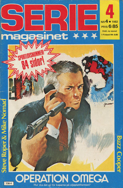 Cover for Seriemagasinet (Semic, 1970 series) #4/1982