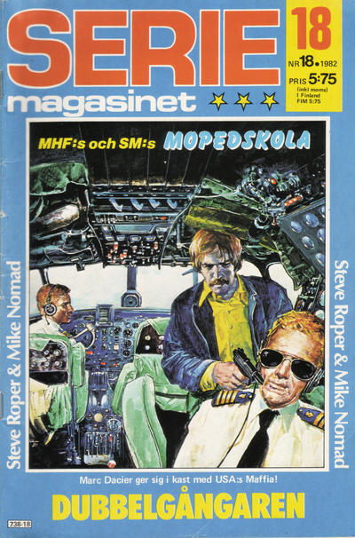 Cover for Seriemagasinet (Semic, 1970 series) #18/1982