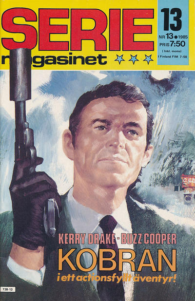 Cover for Seriemagasinet (Semic, 1970 series) #13/1985