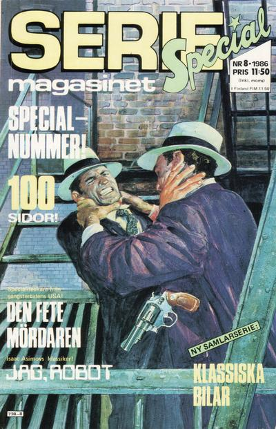Cover for Seriemagasinet (Semic, 1970 series) #8/1986