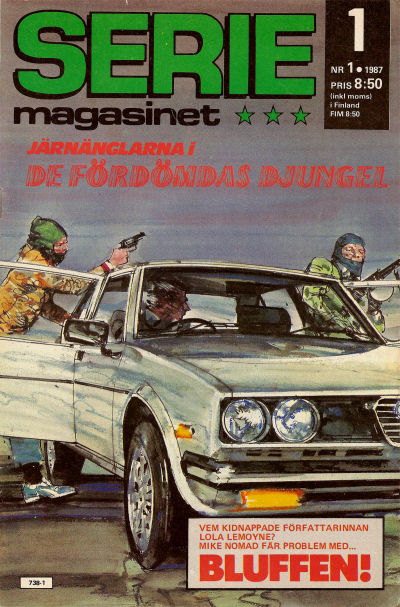 Cover for Seriemagasinet (Semic, 1970 series) #1/1987