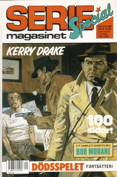 Cover for Seriemagasinet (Semic, 1970 series) #9/1987