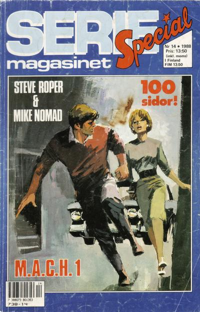 Cover for Seriemagasinet (Semic, 1970 series) #14/1988