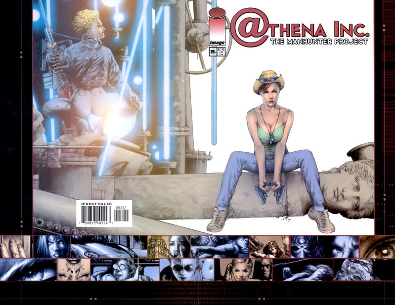 Cover for Athena Inc. The Manhunter Project (Image, 2002 series) #2