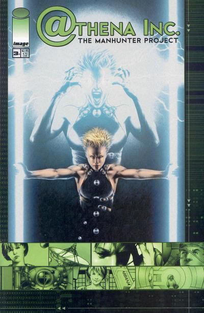Cover for Athena Inc. The Manhunter Project (Image, 2002 series) #3 [Cover A]