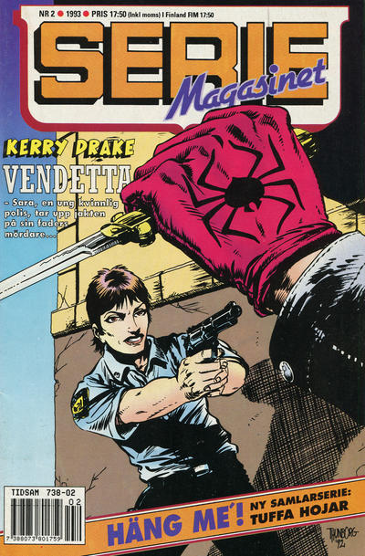 Cover for Seriemagasinet (Semic, 1970 series) #2/1993