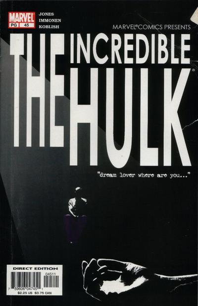 Cover for Incredible Hulk (Marvel, 2000 series) #45