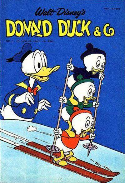 Cover for Donald Duck & Co (Hjemmet / Egmont, 1948 series) #3/1963