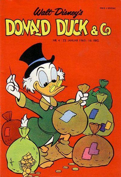 Cover for Donald Duck & Co (Hjemmet / Egmont, 1948 series) #4/1963