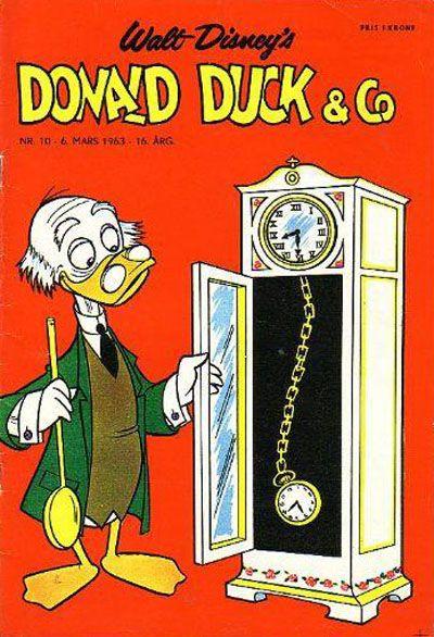 Cover for Donald Duck & Co (Hjemmet / Egmont, 1948 series) #10/1963