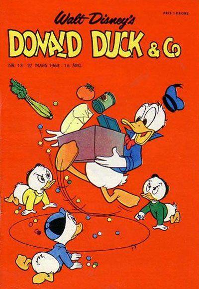 Cover for Donald Duck & Co (Hjemmet / Egmont, 1948 series) #13/1963