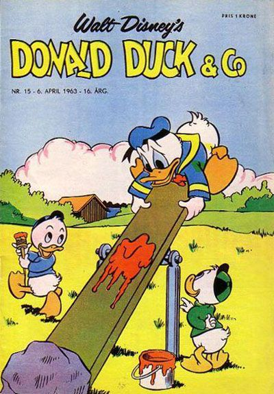 Cover for Donald Duck & Co (Hjemmet / Egmont, 1948 series) #15/1963