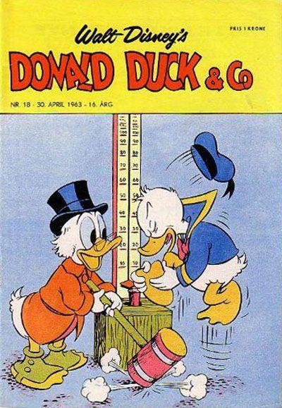 Cover for Donald Duck & Co (Hjemmet / Egmont, 1948 series) #18/1963