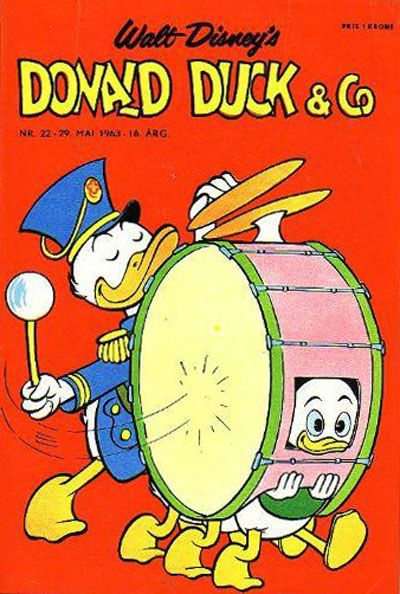 Cover for Donald Duck & Co (Hjemmet / Egmont, 1948 series) #22/1963