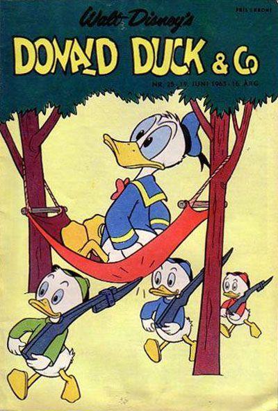 Cover for Donald Duck & Co (Hjemmet / Egmont, 1948 series) #25/1963