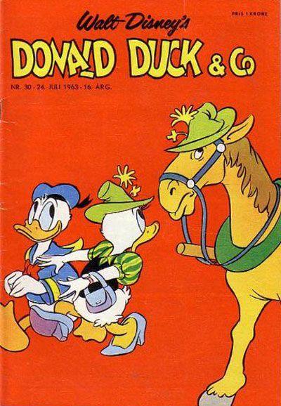 Cover for Donald Duck & Co (Hjemmet / Egmont, 1948 series) #30/1963