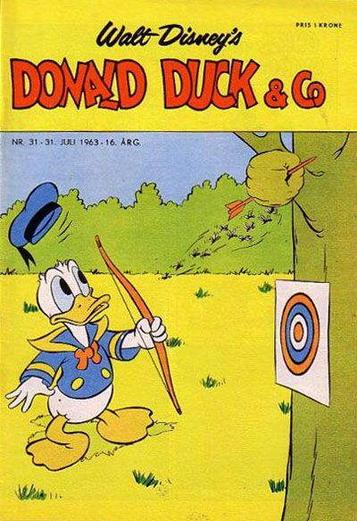 Cover for Donald Duck & Co (Hjemmet / Egmont, 1948 series) #31/1963