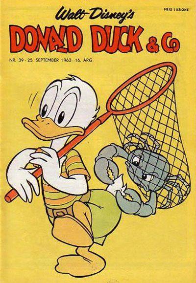 Cover for Donald Duck & Co (Hjemmet / Egmont, 1948 series) #39/1963