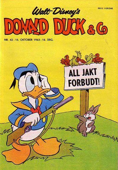 Cover for Donald Duck & Co (Hjemmet / Egmont, 1948 series) #42/1963