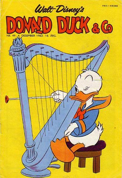 Cover for Donald Duck & Co (Hjemmet / Egmont, 1948 series) #49/1963