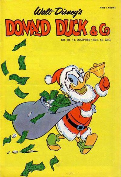 Cover for Donald Duck & Co (Hjemmet / Egmont, 1948 series) #50/1963