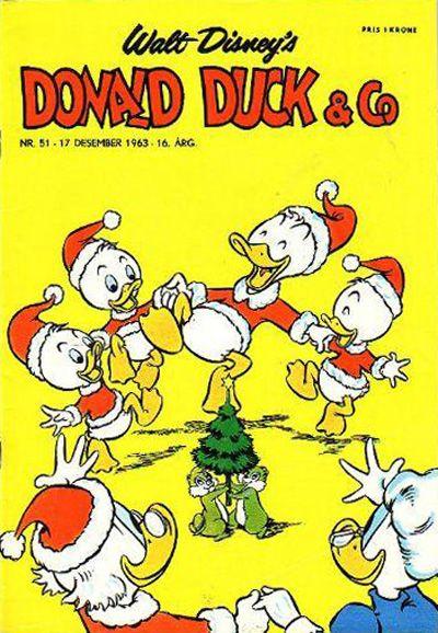 Cover for Donald Duck & Co (Hjemmet / Egmont, 1948 series) #51/1963