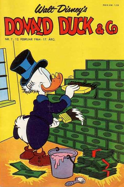 Cover for Donald Duck & Co (Hjemmet / Egmont, 1948 series) #7/1964