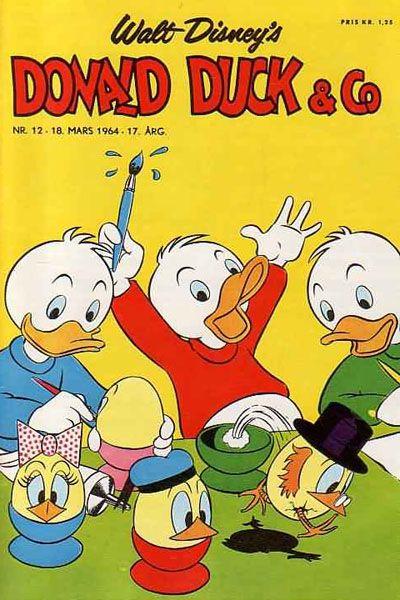Cover for Donald Duck & Co (Hjemmet / Egmont, 1948 series) #12/1964