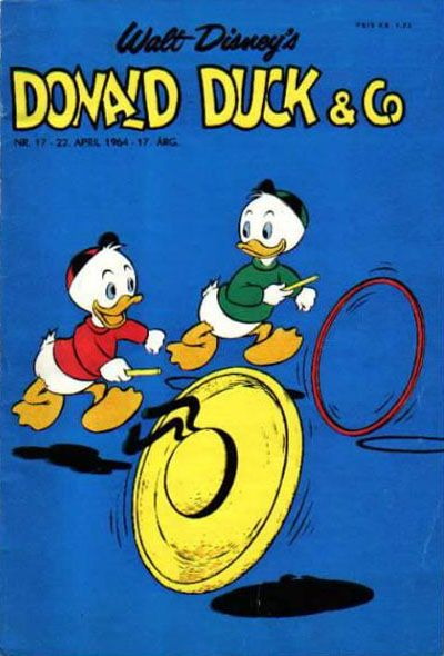 Cover for Donald Duck & Co (Hjemmet / Egmont, 1948 series) #17/1964
