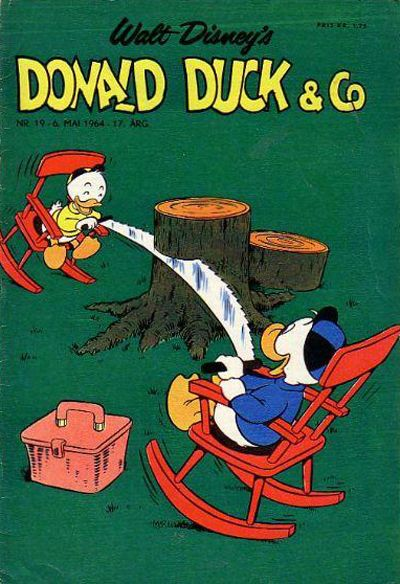 Cover for Donald Duck & Co (Hjemmet / Egmont, 1948 series) #19/1964