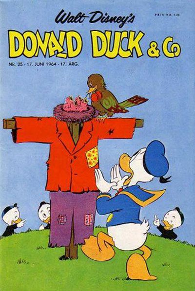 Cover for Donald Duck & Co (Hjemmet / Egmont, 1948 series) #25/1964